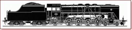 obrázek parní lokomotivy